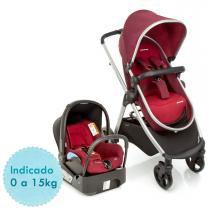 Carrinho de Bebê Travel System Maxi Cosi Discovery TS - Robin Red - Maxi Cosi