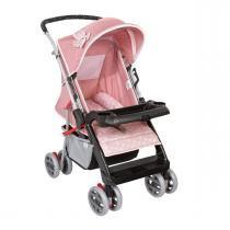 Carrinho de bebê Tutti Baby Thor - Rosa Coroa - Tutti Baby