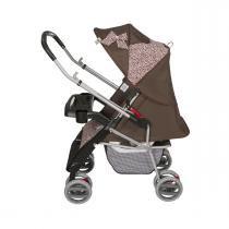 Carrinho de bebê Tutti Baby Thor - Rosa Onça -
