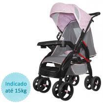 Carrinho de bebê Tutti Baby Upper - Rosa -