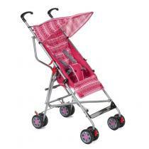 Carrinho De Bebê Umbrella Slim Rosa - Voyage - Voyage