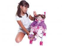 Carrinho de Boneca 20603004 Rosa - Adora Doll