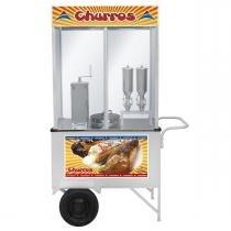 Carrinho De Churros Luxo Com 2 Doceiras Ccl2-015 Armon -