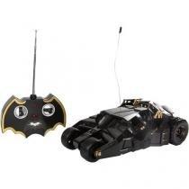 Carrinho de Controle Remoto Batman Batmóvel - The Dark Knight Rises Candide 7 Funções