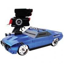 Carrinho de Controle Remoto Camaro - Battle Machines Candide