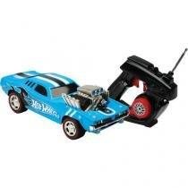Carrinho de Controle Remoto Hot Wheels - Rodger Dodger 7 Funções Alcance até 20 metros