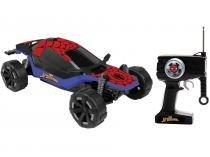 Carrinho de Controle Remoto Marvel Spider Man - Combat Cruiser Candide 7 Funções