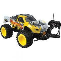 Carrinho de Controle Remoto Monster Truck Hot Wheels 4558 - Candide - Candide
