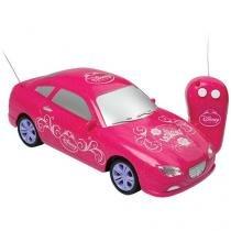 Carrinho de Controle Remoto Princesas Disney - Realeza 3 Funções Alcance até 20m - Candide