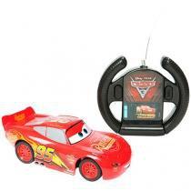 Carrinho de Controle Remoto - Rádio Controlado Cars 3 Disney Escala 1:32 Estrela