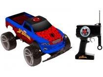 Carrinho de Controle Remoto Spider-Man - Tracker Truck 7 Funções Candide