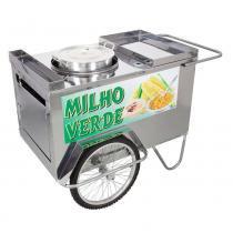 Carrinho de Milho Verde a Gás Inox - Alsa -