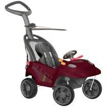 Carrinho de Passeio Infantil a Pedal Smart Baby - Comfort com Empurrador Emite Sons Bandeirante