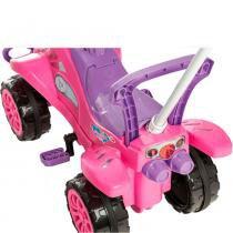 Carrinho de Passeio ou Pedal Cross Turbo Pink - Calesita -