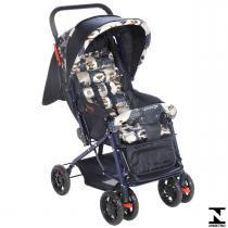 Carrinho De Passeio Para Bebê Funny Azul Voyage -