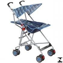 Carrinho De Passeio Para Bebê Umbrella Slim Azul Voyage - Voyage