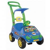 Carrinho de Passeio Roller Baby Versátil Cebolinha Azul 1027 - Magic Toys - Magic Toys