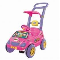 Carrinho de Passeio Roller Baby Versátil Mônica Rosa 1028 - Magic Toys - Magic Toys