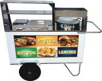 Carrinho de Pastel, Hot Dog e Lanche - Alsa -