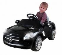 Carrinho Elétrico Infantil Mercedes Preto 6 Volts II - Xalingo -