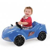 Carrinho Infantil Xtreme com Pedal Azul 04894 - Xalingo -