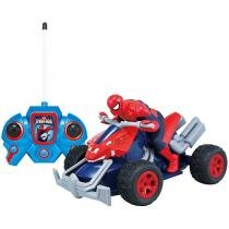 Carrinho Marvel Spider Man Web Tracker - Candide