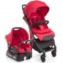 Carrinho para bebê com Bebê Conforto Travel System Airway Vermelho 15 kg - Safety 1st -