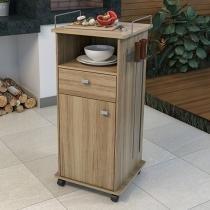 Carrinho para Churrasco Multimóveis Gourmet - 1 Porta 1 Gaveta