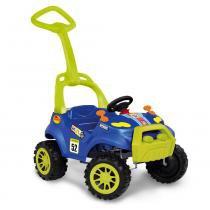 Carrinho Smart Passeio com Pedal - Azul - Bandeirante -
