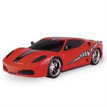 Carrinho Sportcar Megafrix Super Fricção 4651 Vermelho - Poliplac - Poliplac