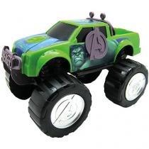 Carrinho Vingadores - Marvel Hulk - Toyng