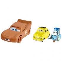 Carrinhos Chester Whipplefilter e Luigi & Guido - Carros 3 Disney Pixar Mattel