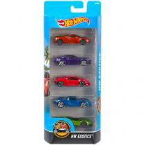 Carrinhos Hot Weels HW Exotics - Mattel