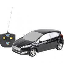 Carro com controle remoto fiesta escala 1:24 preto cks frd01 - Cks