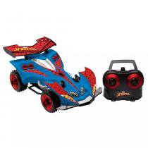 Carro com controle Remoto Homem Aranha Web Racer 7 Funções - Candide -