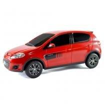 Carro com Controle Remoto NOVO FIAT PALIO vermelho 1:18 CKS P346 - Cks imp e exp máquinas