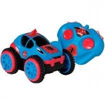 Carro com Controle Remoto Spider Flip Marvel Candide - Candide