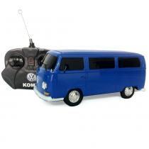 Carro com Controle Remoto VW KOMBI azul escuro 1:24 CKS VW02 - Cks imp e exp máquinas