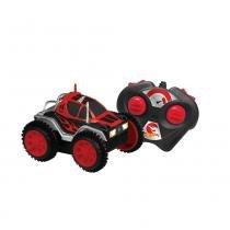 Carro Controle Remoto 3 Funções Hot Wheels Vermelho - Candide - Candide