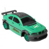 Carro Controle Remoto 3 Funções Lanterna Verde - Candide -