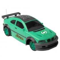 Carro Controle Remoto 3 Funções Lanterna Verde - Candide - Candide