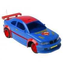 Carro Controle Remoto 3 Funções Liga da Justiça Superman - Candide -