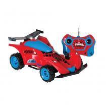 Carro Controle Remoto 3 Funções Power Spider Man - Candide - Candide