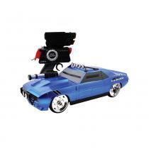 Carro Controle Remoto Battle Camaro Azul - Candide -