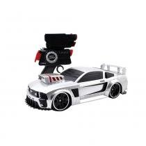 Carro Controle Remoto Battle Machines Silver Mustang - Candide -