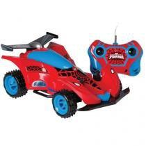 Carro controle remoto spiderman marvel candide 5812 -