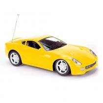 Carro Controle Remoto Supremus Legend Estrela Amarelo EST-226.1 -