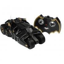 Carro de Controle Remoto 7 Funções Batmóvel Dark Knight Rises 9013 - Candide -