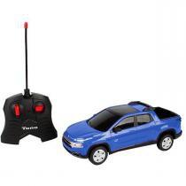 Carro de Controle Remoto Recarregável Fiat Toro CKS Toys - CKS Toys