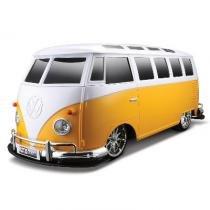 Carro de Controle Remoto Volkswagen - Kombi Amarela - Maisto -